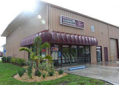 Richards Carpet Warehouse store front