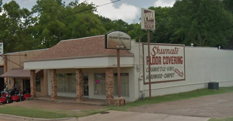 Shumate Floor Covering store front