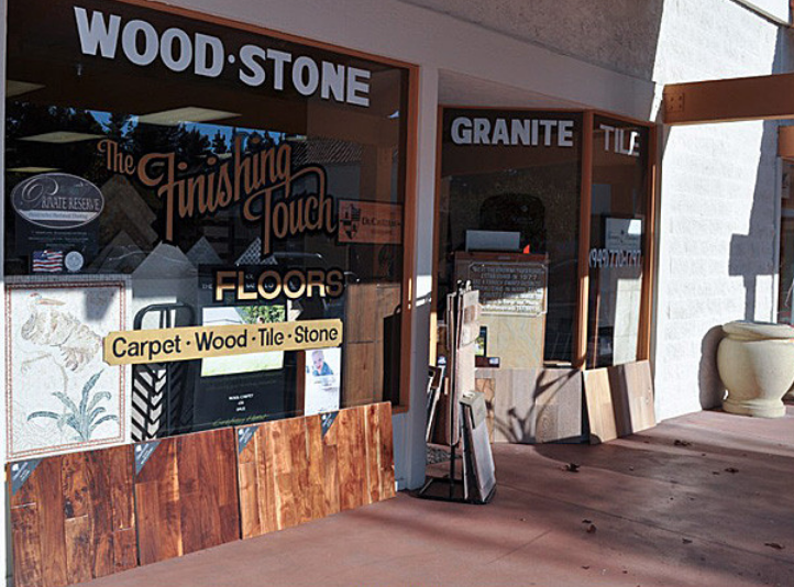 The Finishing Touch Floors, Inc. store front