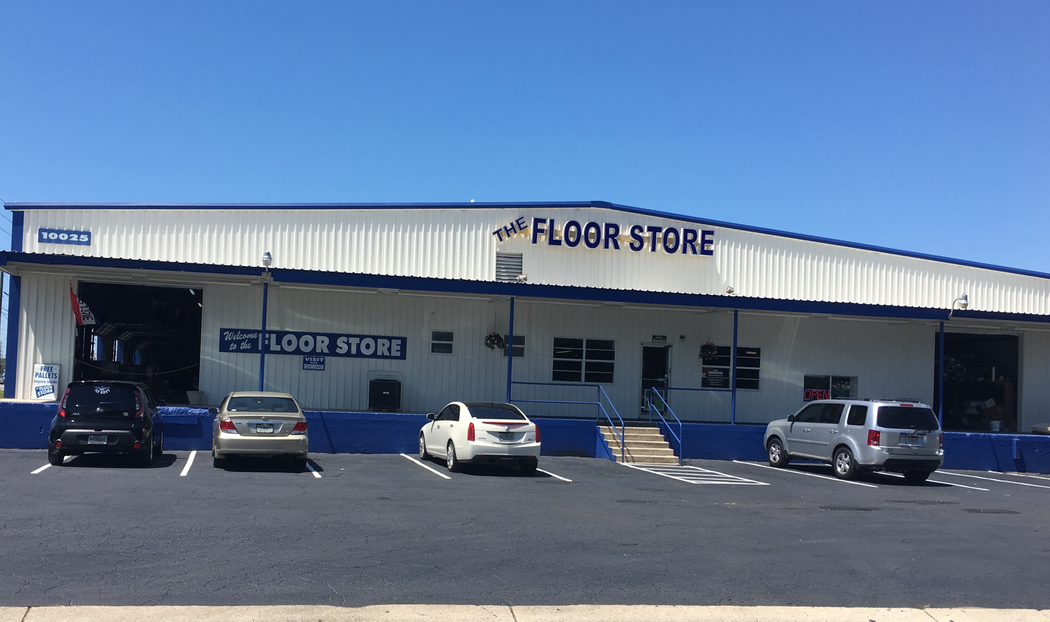 THE FLOOR STORE store front