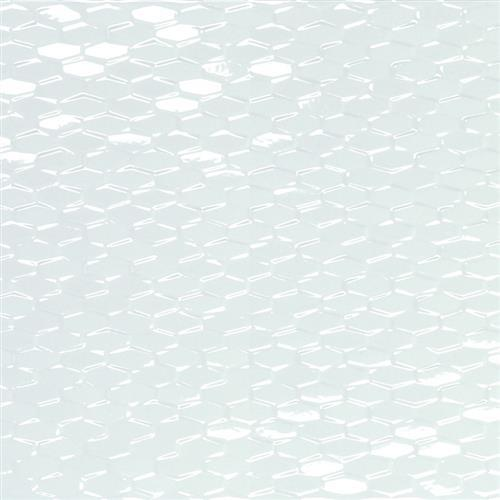 """ProductVariant swatch small for White Mini Hexagon 12""""x35"""" flooring product"""