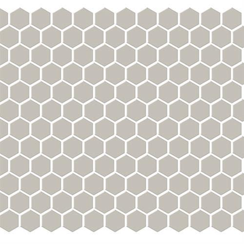 Swatch for Fawn   Hexagon flooring product