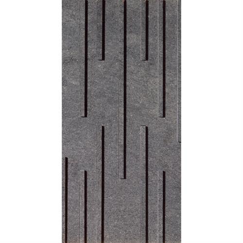 Swatch for Anthracite Fascia Mosaic (random Strip) flooring product