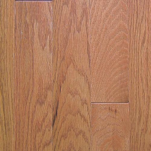 "Swatch for Oak Gunstock   3"" flooring product"