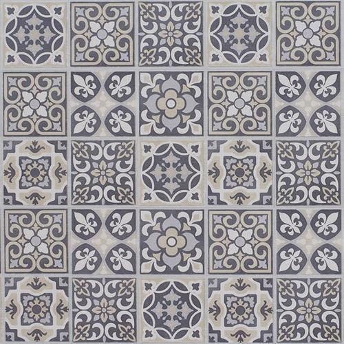 Swatch for Tracery   Stained Glass flooring product