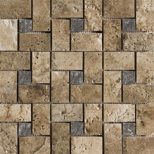 Swatch for Troy Pinwheel Mosaic flooring product