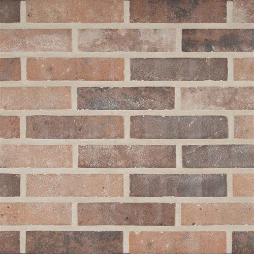 Swatch for Red Brick flooring product