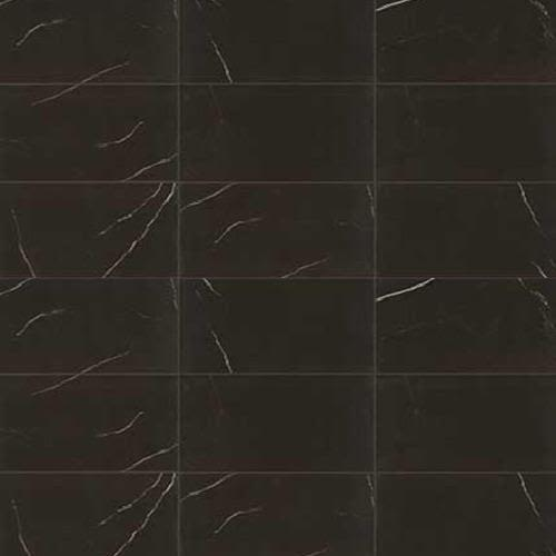 Swatch for Centurio Black Polished   12x24 flooring product