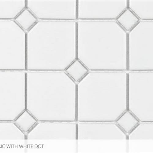 Swatch for 2 X 2 With White Dot flooring product