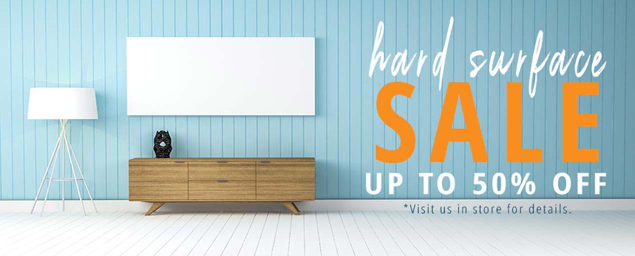 Current Deals | Hard Surface Sale