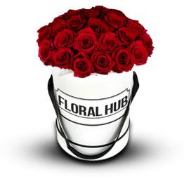 24 Red Roses Box