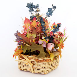 Fall Arrangement Basket