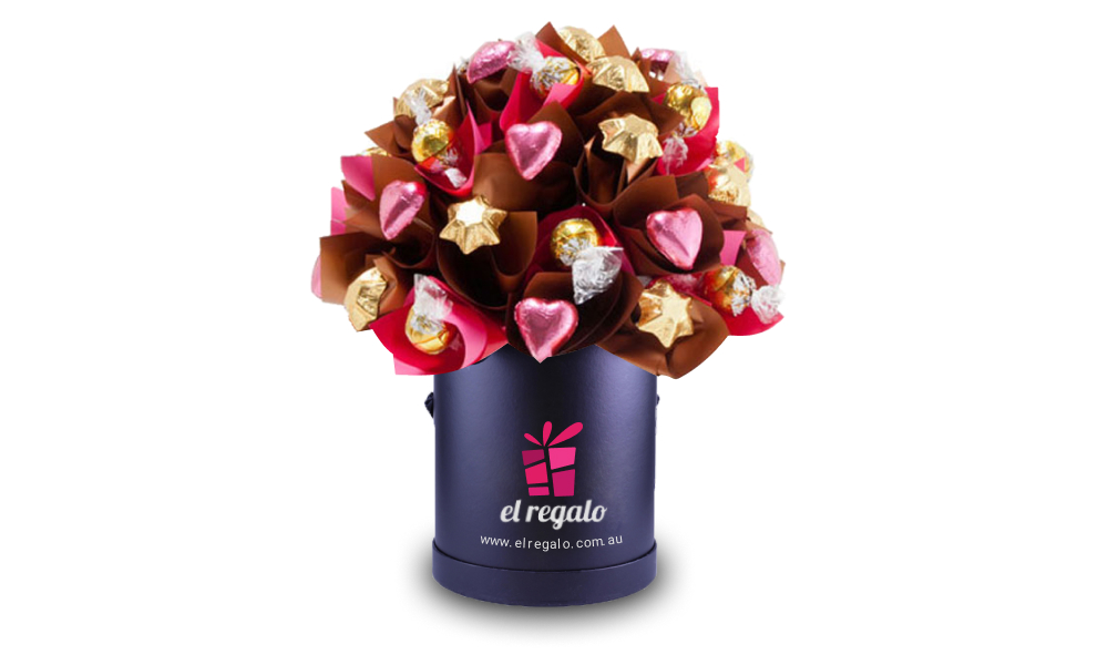 Heart & Stars Chocolate Bouquet
