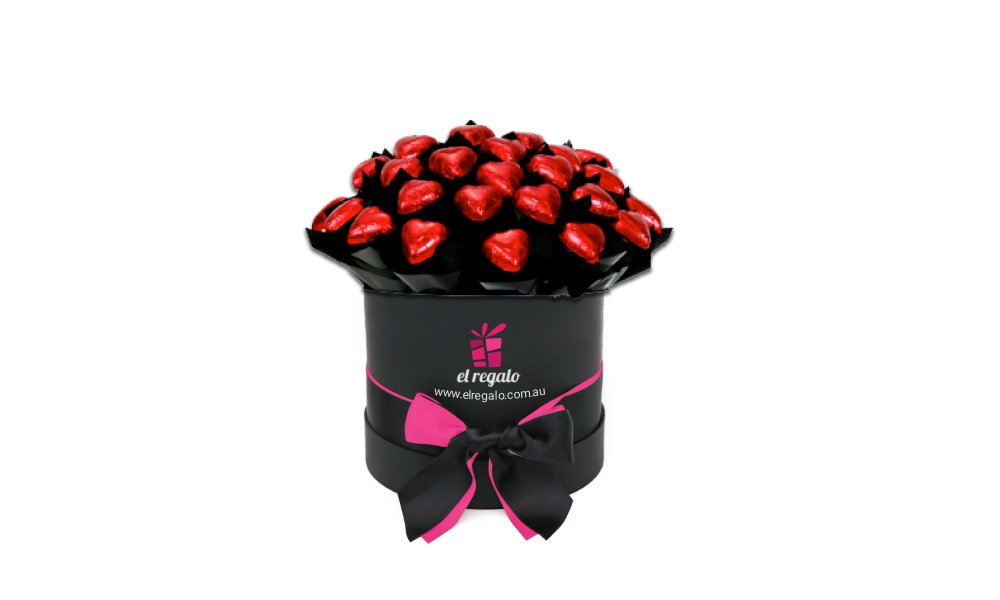 Simply Red heart Box
