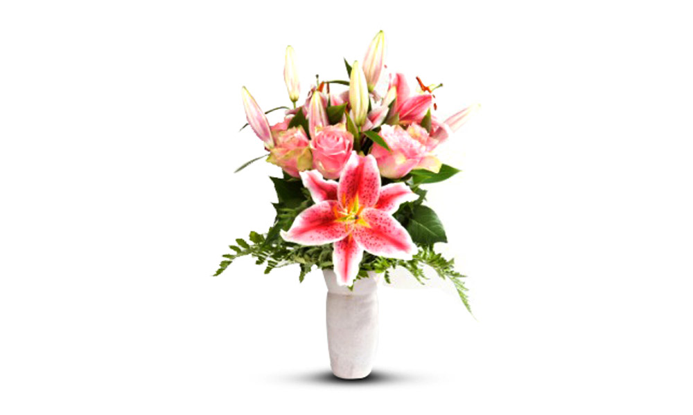 Pink Lilies/Roses