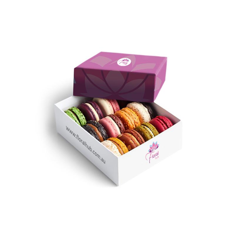 Macarons 12 Piece Box