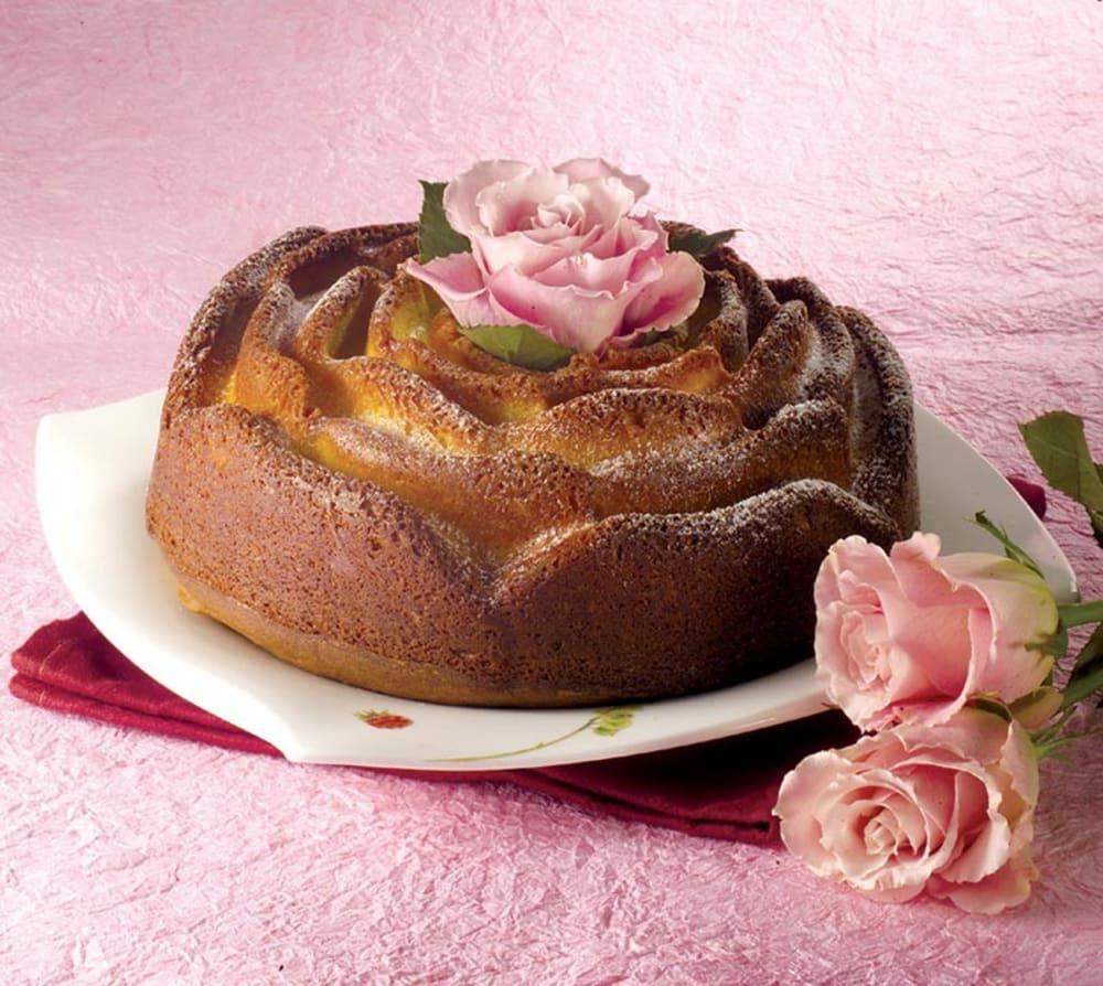 PAVONIDEA  Forma do ciasta RÓŻA