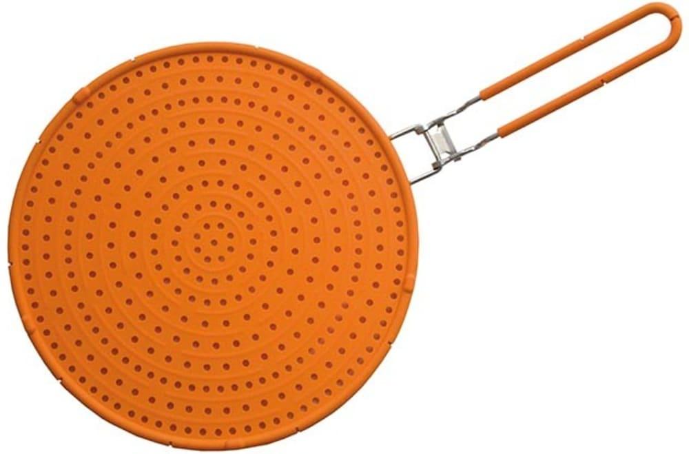 PAVONIDEA pokrywka na patelnię 32 cm  OLI pomarańczowa