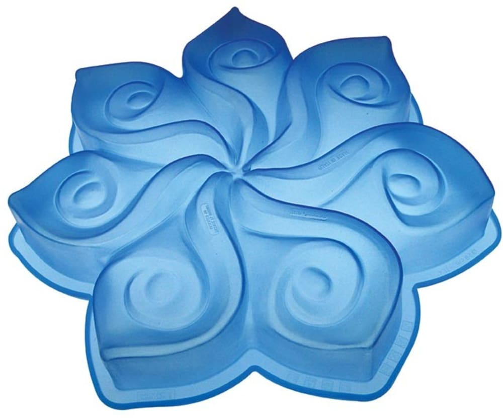 PAVONIDEA Forma do ciasta CALLA niebieska