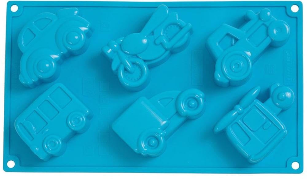 Forma na babeczki SAMOCHODY x6 PAVONI