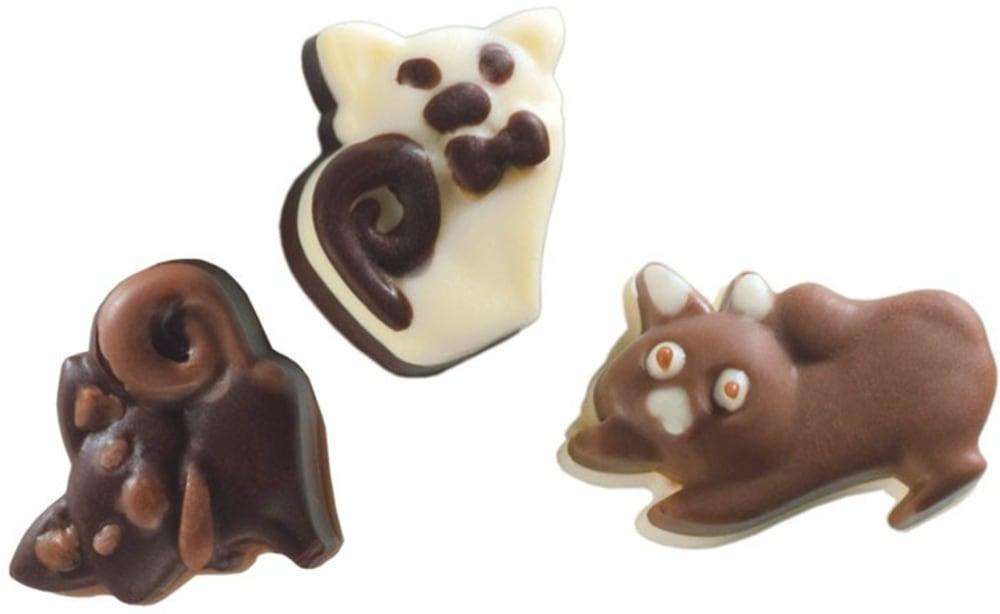 Forma na czekoladowe pralinki KITTY x16 PAVONI
