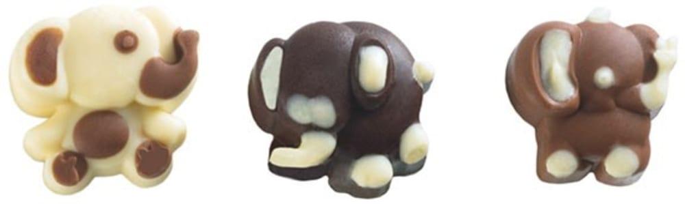 Forma na czekoladowe pralinki SŁONIK x16