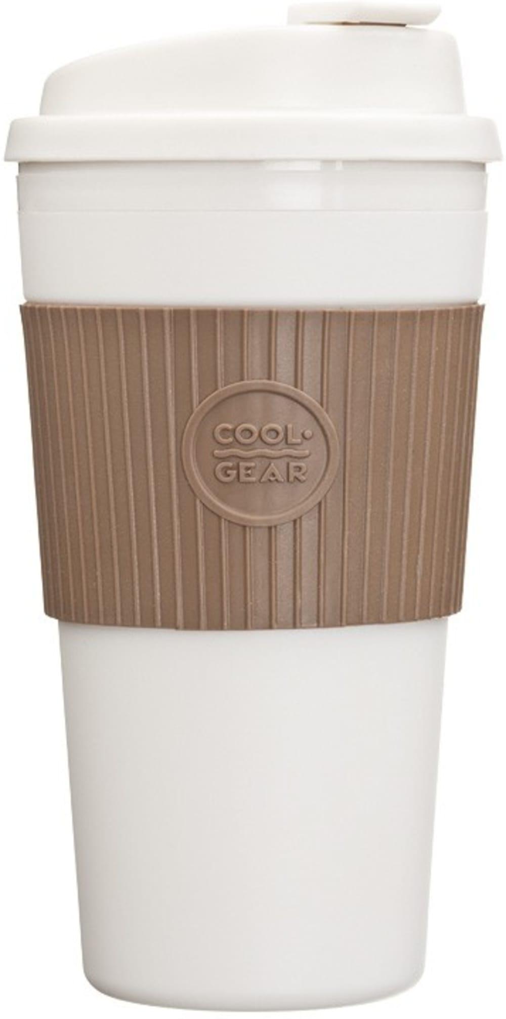 CG - Termiczny kubek brązowy, duży