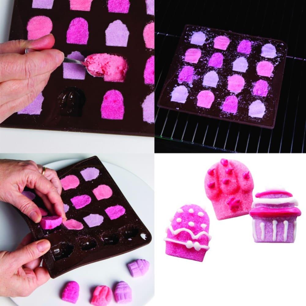 Forma na czekoladowe pralinki CUPCAKES x12