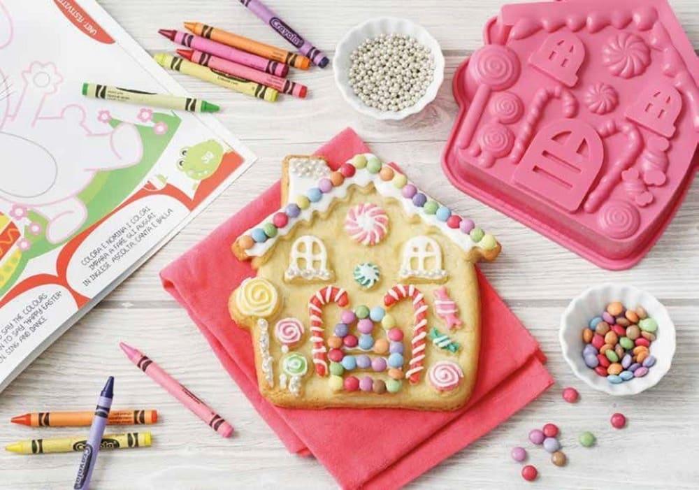 PAV-Forma na ciasto/tort SWEET HOME,różowa,(DOMEK)