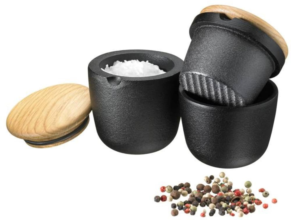 Pojemnik na przyprawy (dębowa pokrywka)