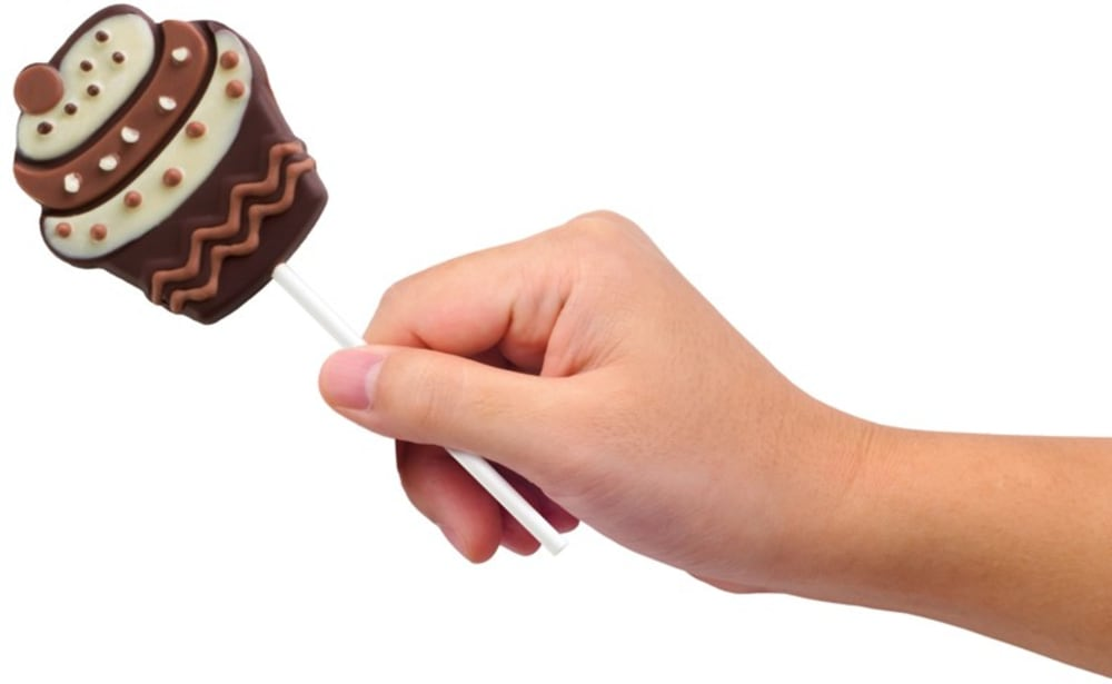 Forma do lizaków CUPCAKES PAVONI