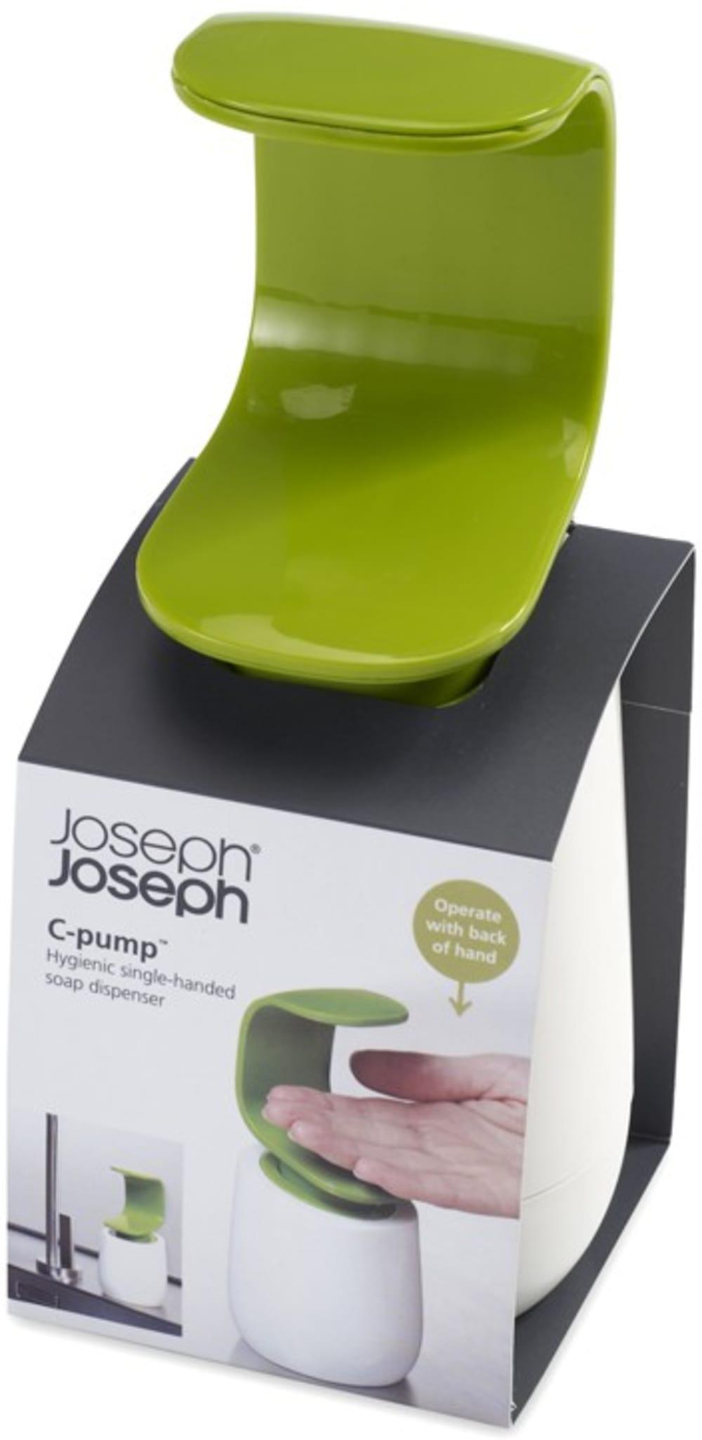 Dozownik na mydło C-pump, szary Joseph Joseph