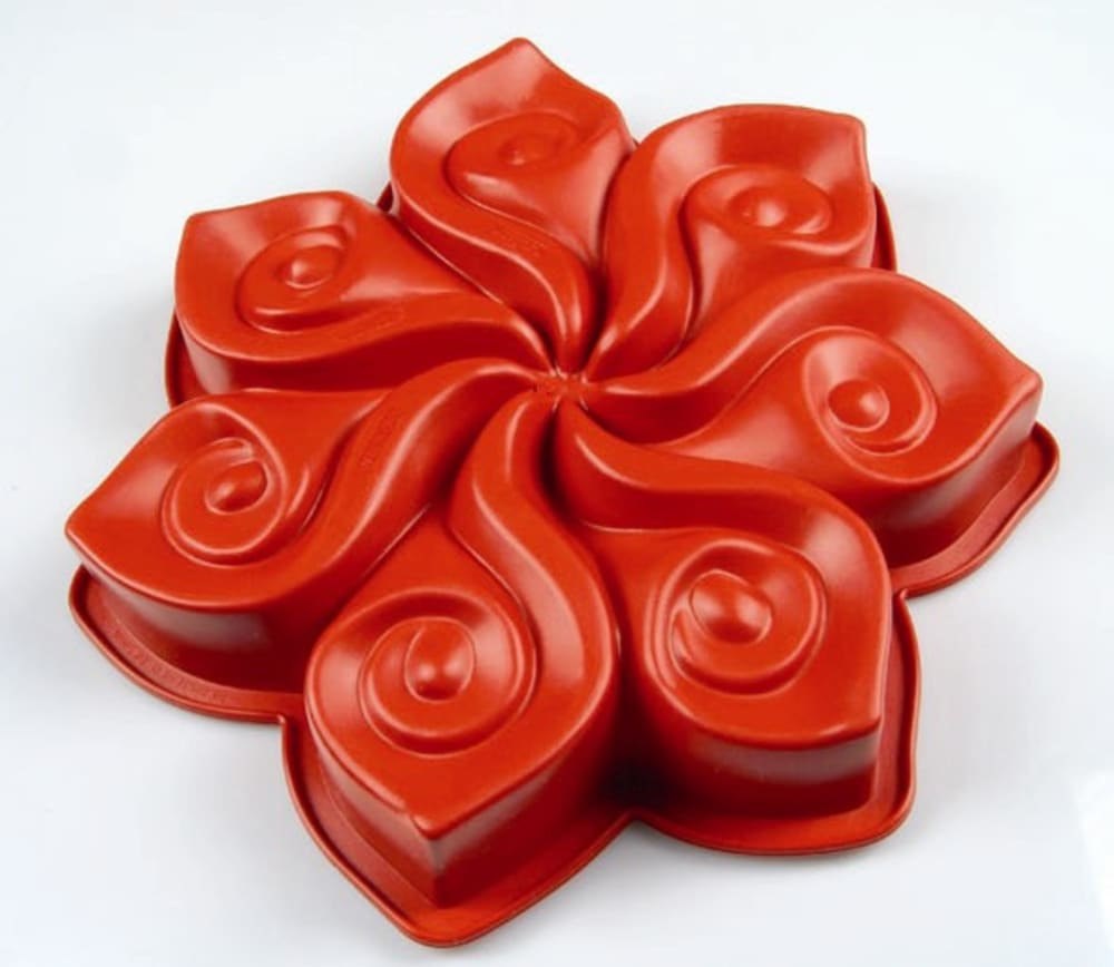 PAVONIDEA Forma do ciasta CALLA czerwona