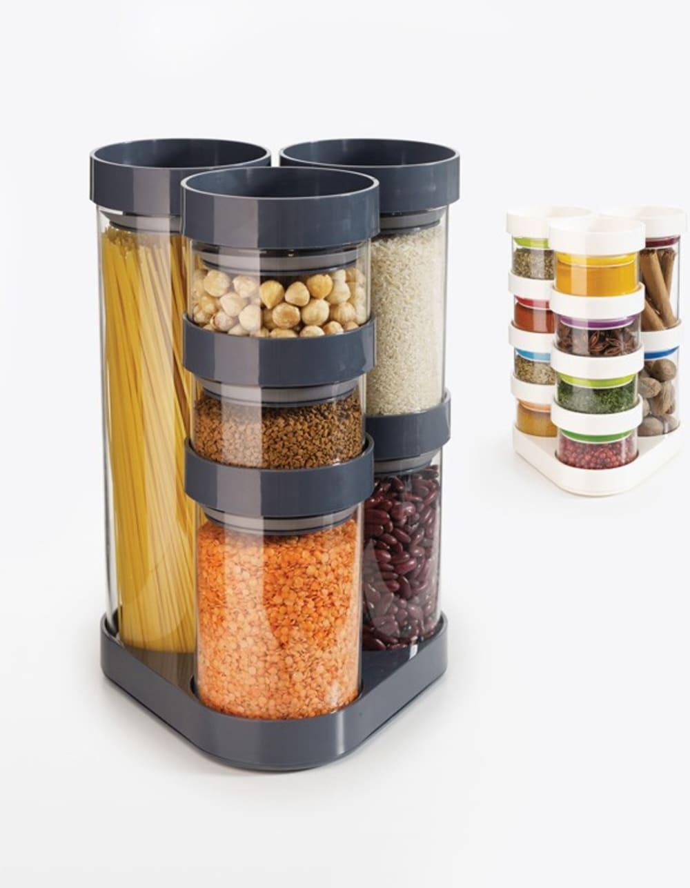 Zestaw 6 pojemników na żywność FOOD STORE JOSEPH