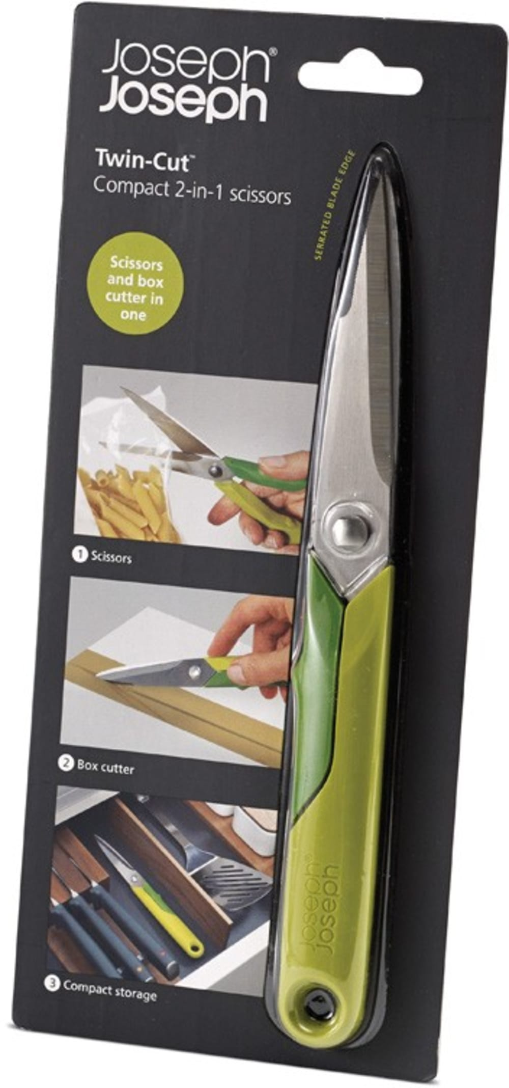 Nożyk i nożyce kuchenne 2w1 JOSEPH JOSEPH