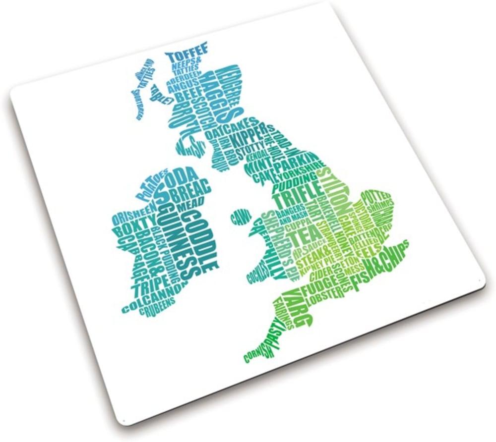 Podkładka ze szkła hartowanego UK 30 x 30