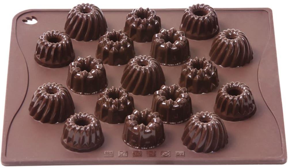 Forma na czekoladowe pralinki BABECZKI x17