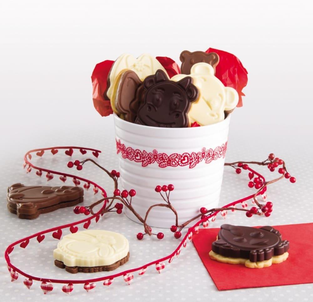 Foremka do lodów, ciasta+wykrawaczka HIPOPOTAM