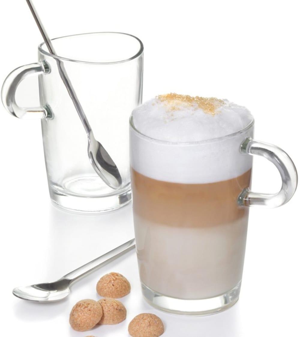 LO - Zestaw szklanek Latte Macchiato z łyżeczkami