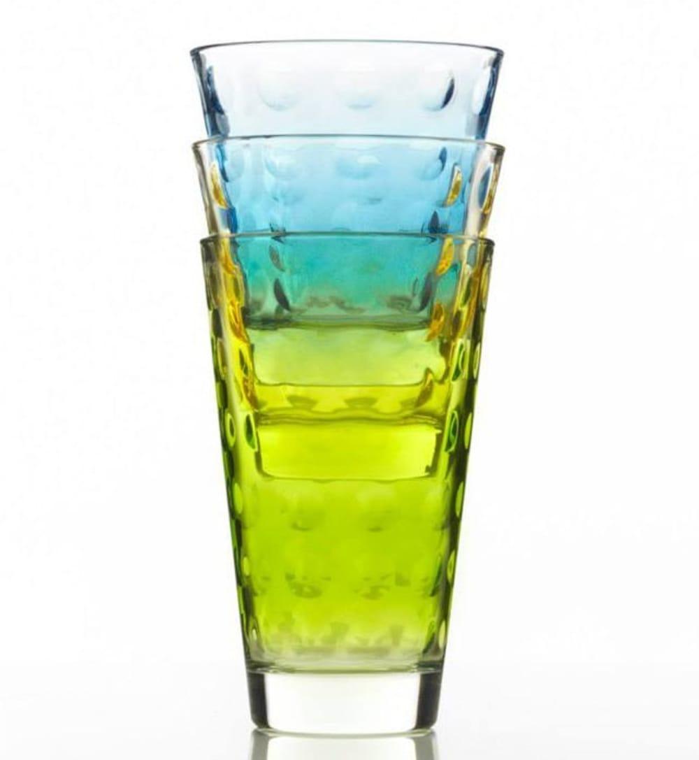 LO - Szklanka niska OPTIC niebieska 220 ml