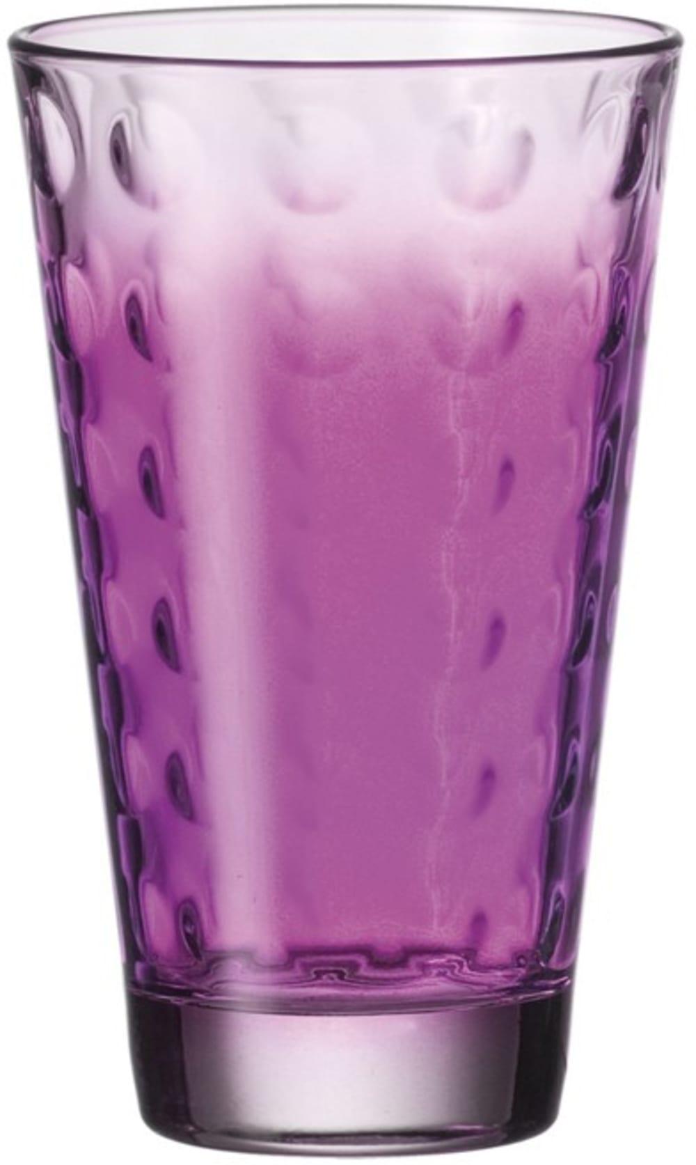 LO - Szklanka wysoka OPTIC fioletowa 300 ml