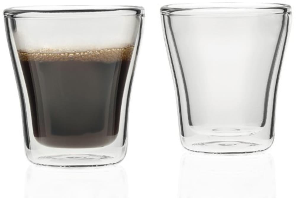 LO - Zestaw szklanek 2szt z podw.ścianką DUO 88 ml