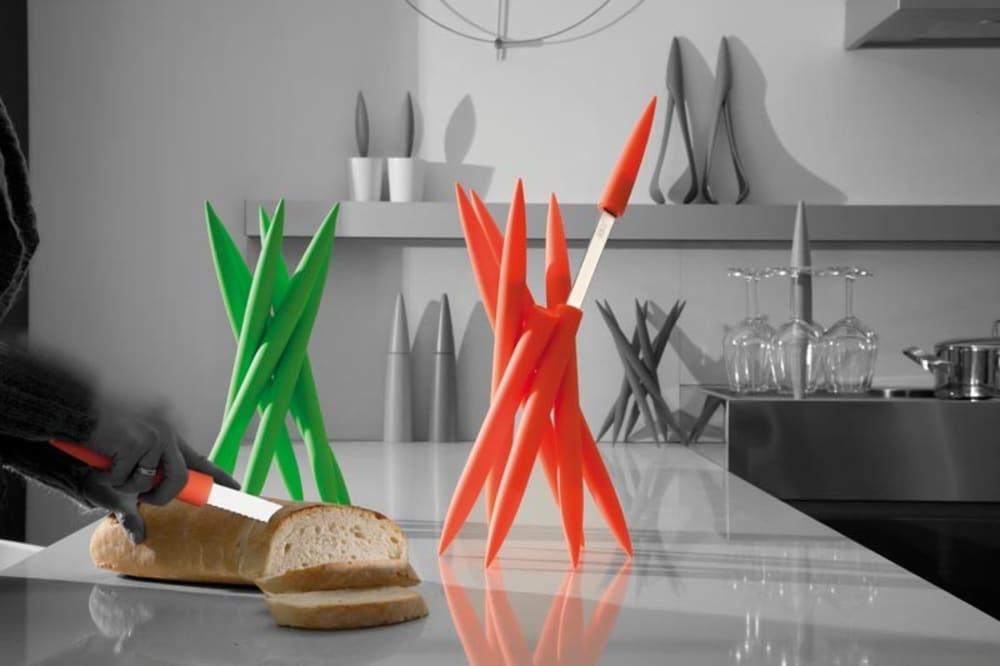 Zestaw noży MAGNUM x 6 - pomarańcz, bez opakowania