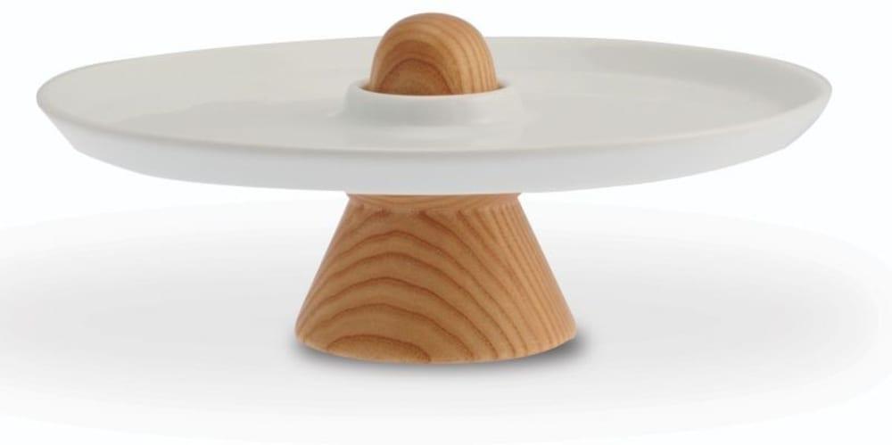 LEGNO-Patera mała do serwowania ciast 24 cm,bez op