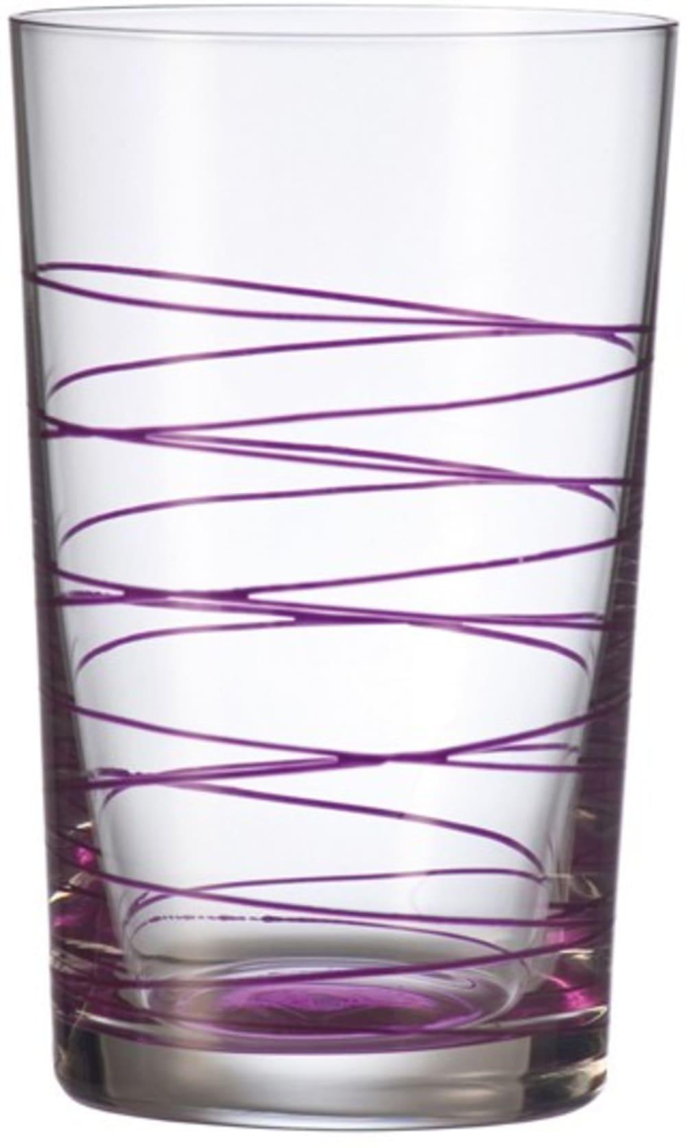 LO - Szklanka 0,36l fioletowa Spirale