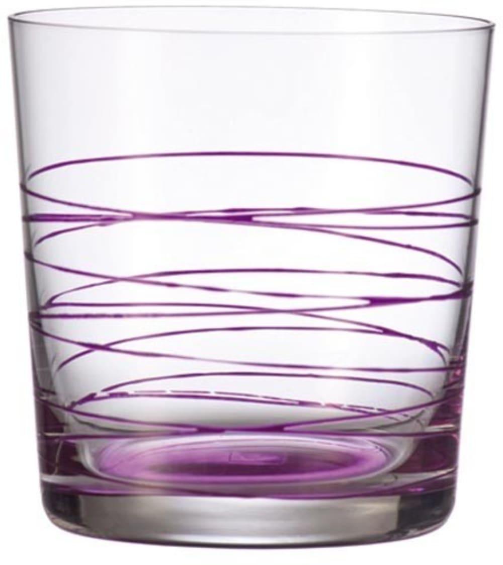 LO - Szklanka 0,38l fioletowa Spirale