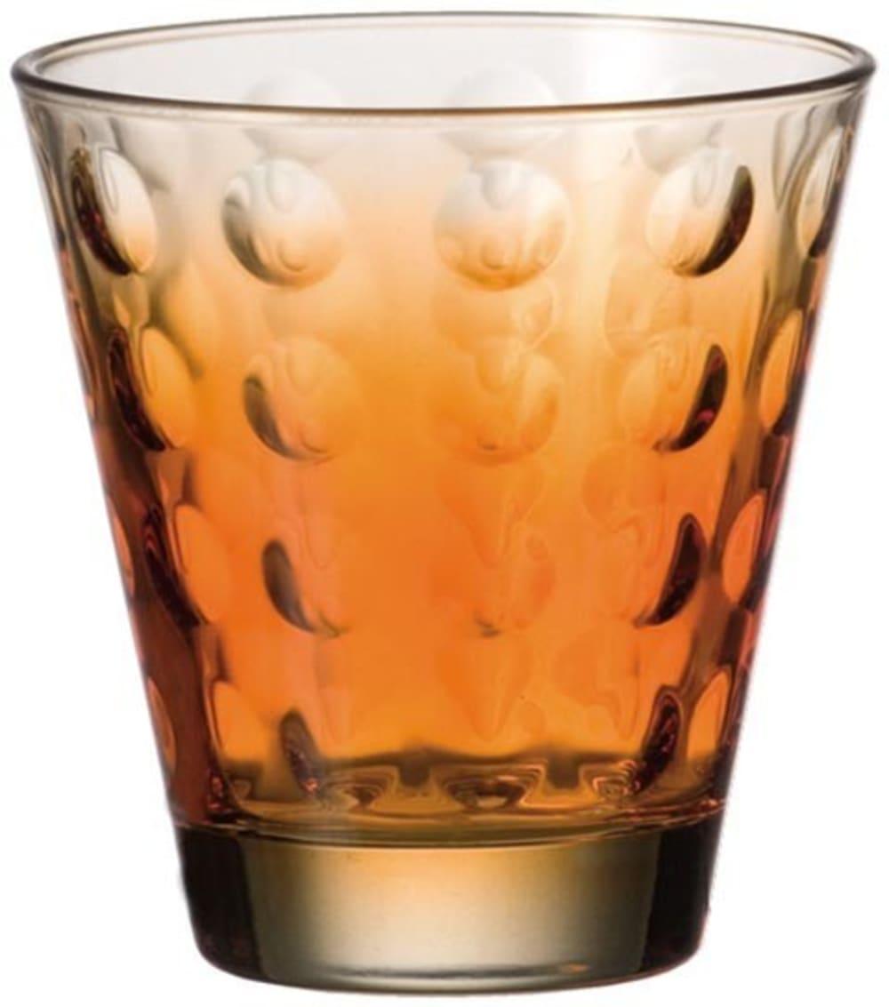 LO - Szklanka niska OPTIC pomarańczowa 220 ml