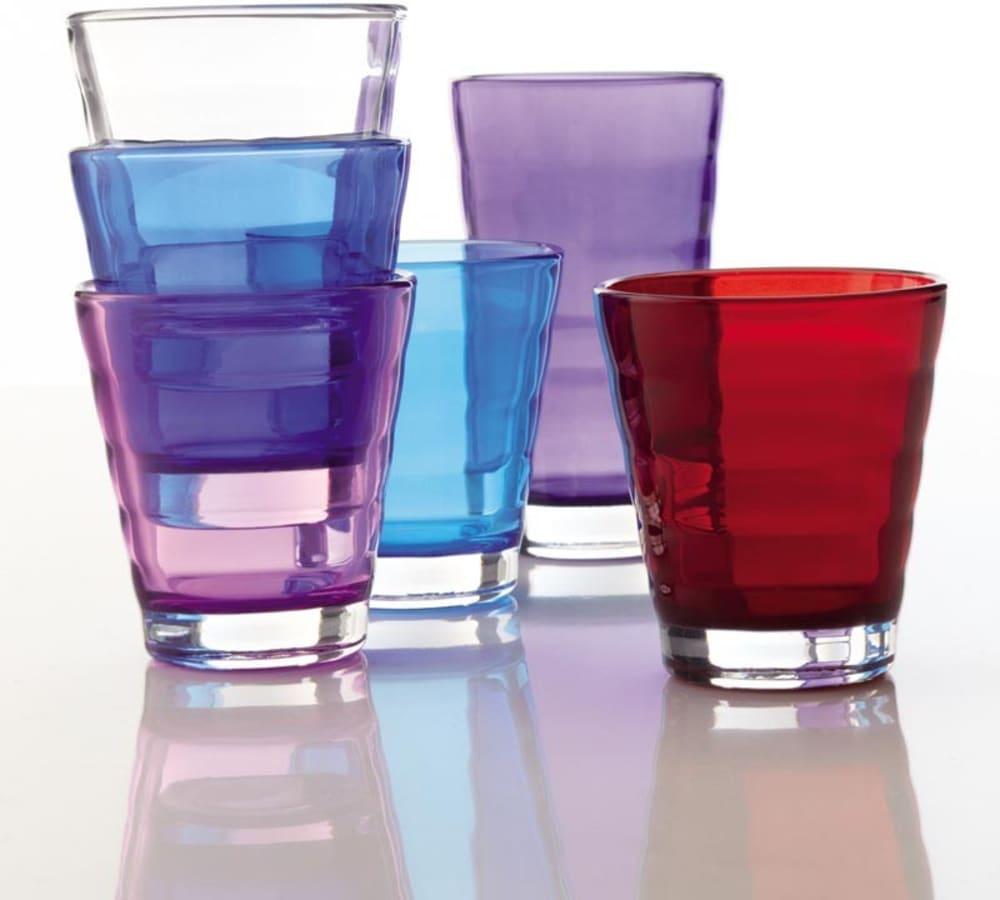 LO - Szklanka 0,25l różowa Wave