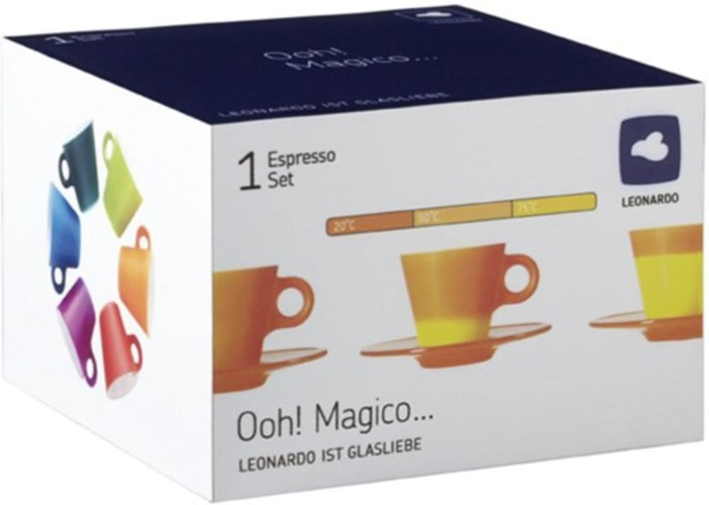 LO - Filiżanka + spodek fioletowa Ooh! Magico