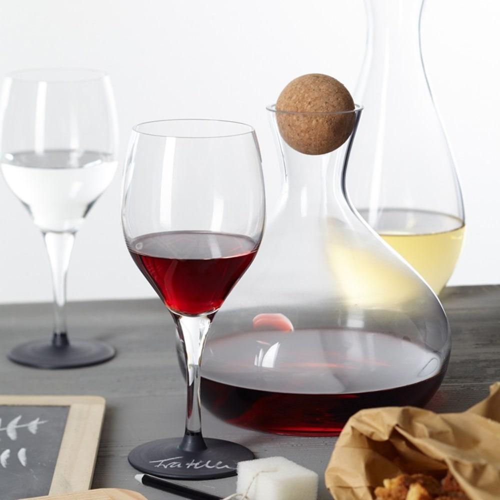 LO - Karafka do czerwonego wina z korkiem FRATELLI